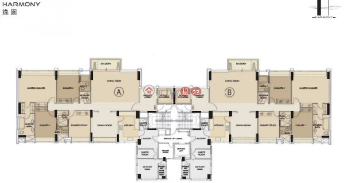 3 Bedroom Family Flat for Rent in Stubbs Roads   Harmony 逸園 Rental Listings