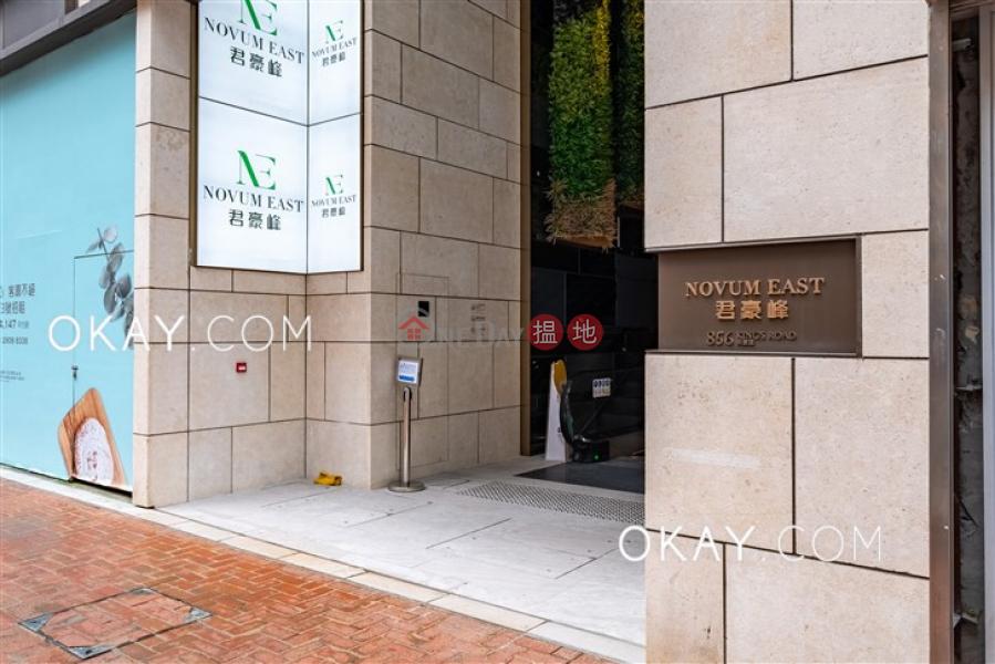 1房1廁,極高層,星級會所,露台《君豪峰出售單位》856英皇道 | 東區香港-出售HK$ 900萬