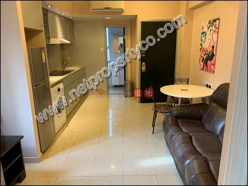 HK$ 19,000/ month, Wang Gee Mansion Wan Chai District, Furnished high-floor flat for rent in Wan Chai