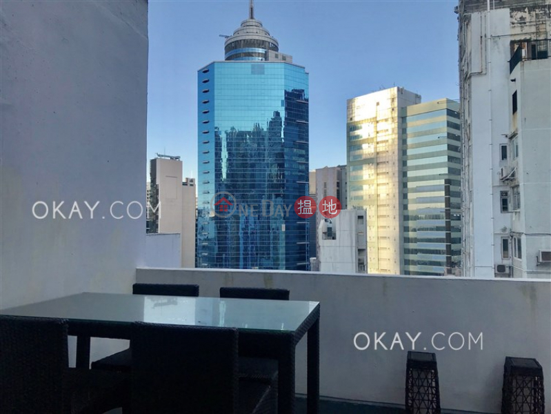 Intimate studio on high floor with terrace | For Sale | 21-31 Old Bailey Street | Central District | Hong Kong, Sales | HK$ 9.5M