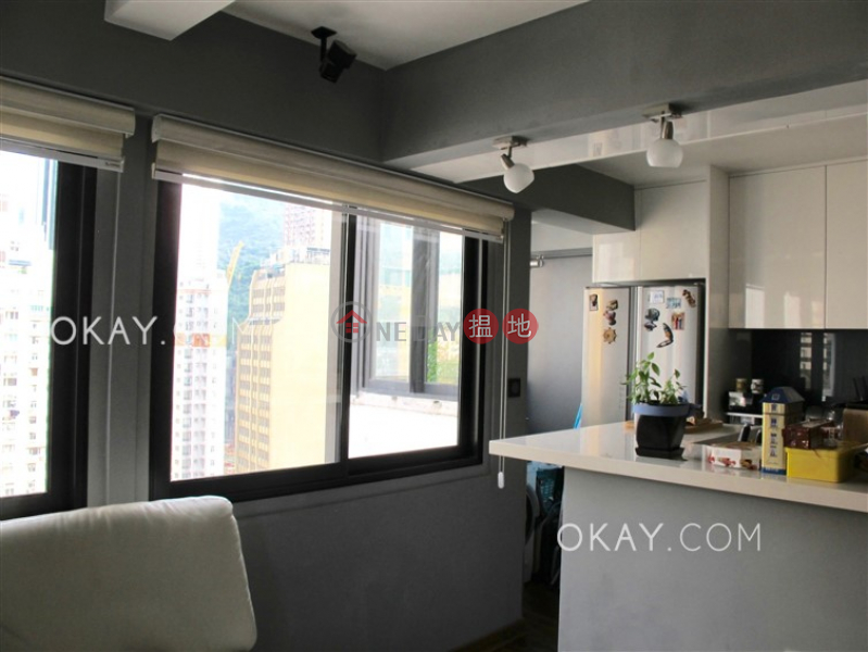 Tasteful 1 bedroom on high floor with balcony | For Sale, 5-9 Gresson Street | Wan Chai District, Hong Kong Sales HK$ 8.6M