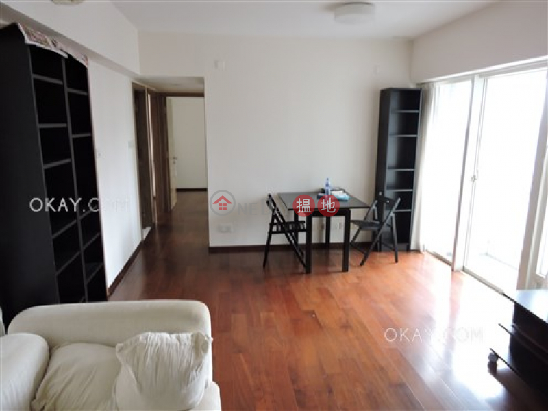 HK$ 35,000/ month Centrestage, Central District   Charming 2 bed on high floor with sea views & balcony   Rental