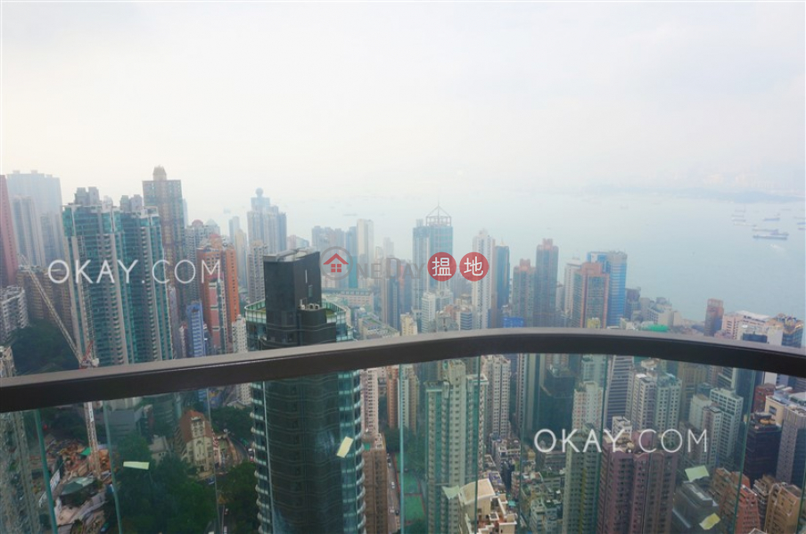 Property Search Hong Kong | OneDay | Residential Rental Listings, Lovely 2 bedroom on high floor with sea views & balcony | Rental