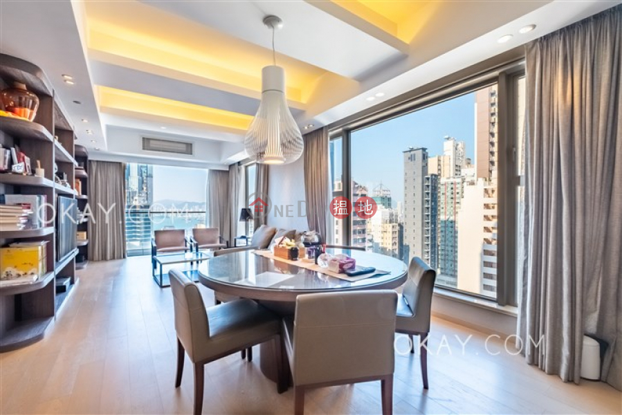 HK$ 45M | The Summa | Western District, Luxurious 3 bed on high floor with balcony & parking | For Sale