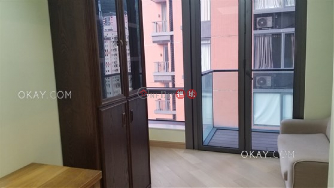 Gorgeous 1 bedroom on high floor with balcony | For Sale 8 Jones Street | Wan Chai District Hong Kong Sales, HK$ 14.3M