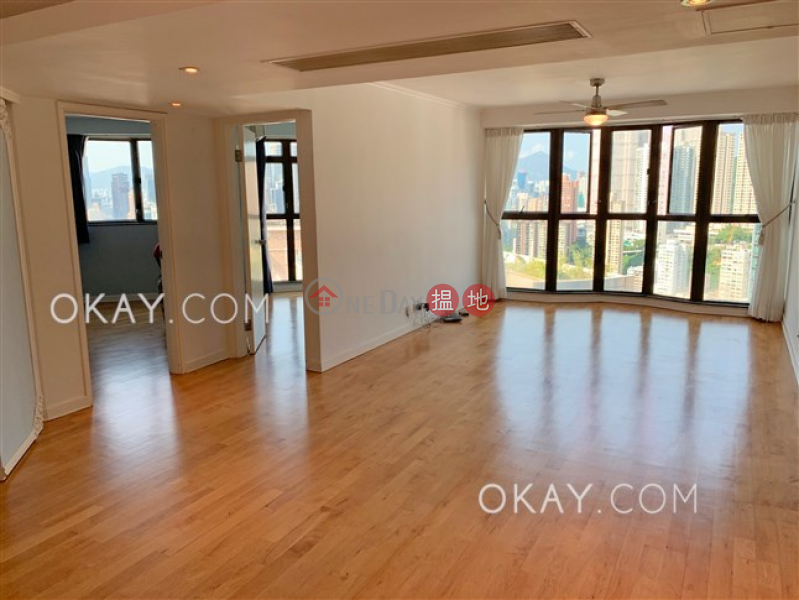Nicely kept 3 bed on high floor with racecourse views | Rental | Crescent Heights 月陶居 Rental Listings