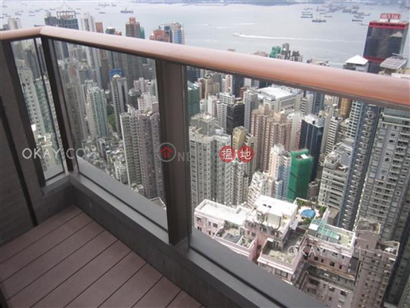 2房1廁,極高層,星級會所,露台殷然出租單位-100堅道 | 西區香港|出租|HK$ 46,800/ 月