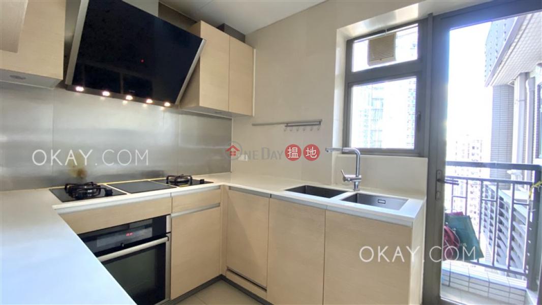 Unique 3 bedroom on high floor with balcony | Rental | SOHO 189 西浦 Rental Listings
