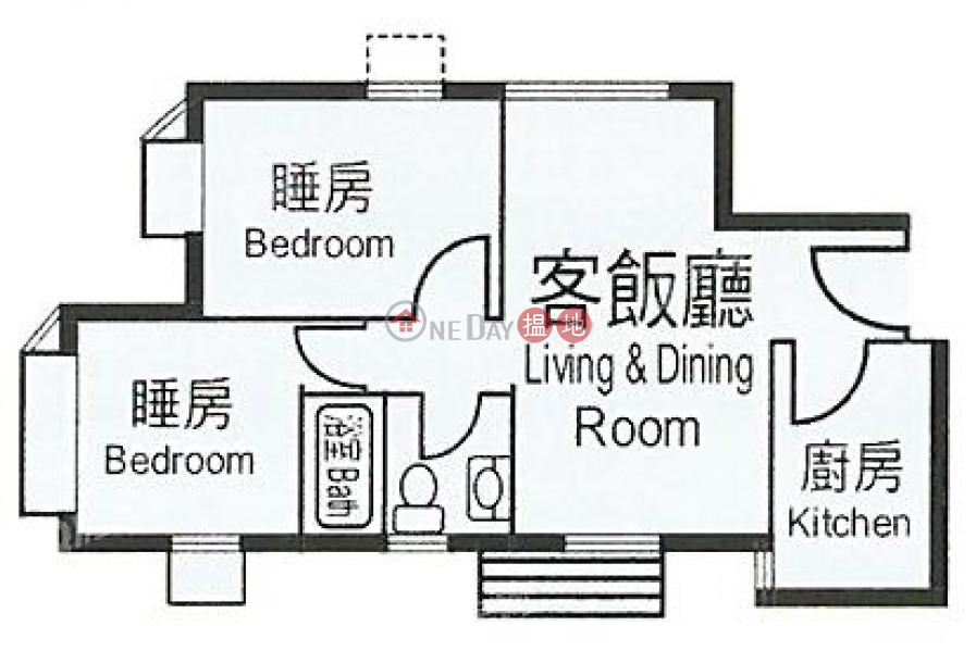 實用兩房,罕有靚盤《杏花邨17座租盤》|杏花邨17座(Heng Fa Chuen Block 17)出租樓盤 (QFANG-R97981)