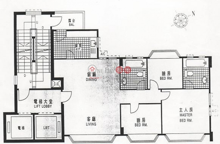 Property Search Hong Kong | OneDay | Residential Rental Listings, Flat for Rent in Hundred City Centre, Wan Chai