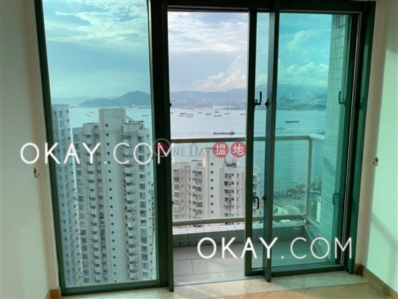 Rare 3 bedroom on high floor with sea views & balcony | Rental | 9 Rock Hill Street | Western District | Hong Kong, Rental, HK$ 45,000/ month