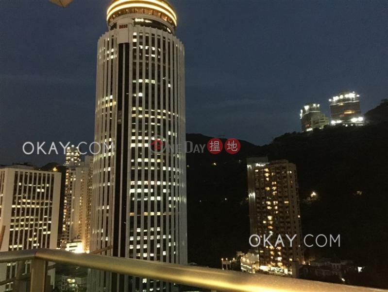 1房1廁,極高層,露台《嘉薈軒出租單位》|60莊士敦道 | 灣仔區|香港|出租-HK$ 25,000/ 月