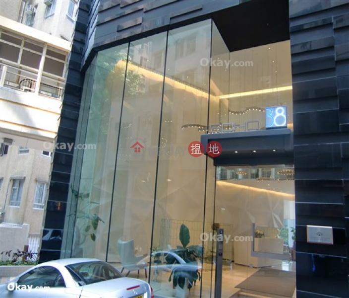 1房1廁,極高層,星級會所,露台《Soho 38出租單位》|Soho 38(Soho 38)出租樓盤 (OKAY-R68639)