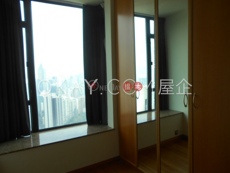 HK$ 95,000/ month | Fairlane Tower | Central District, Beautiful 3 bedroom on high floor with harbour views | Rental