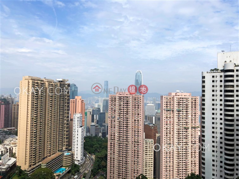 Rare 3 bedroom with balcony & parking | Rental, 3 Tregunter Path | Central District Hong Kong Rental | HK$ 151,000/ month