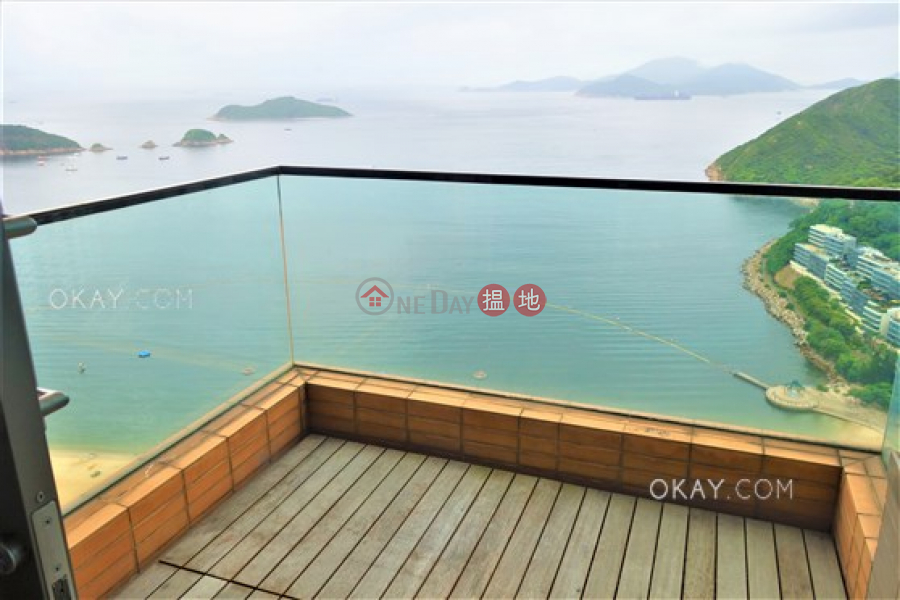 HK$ 146,000/ month Grosvenor Place Southern District | Stylish 4 bed on high floor with sea views & balcony | Rental