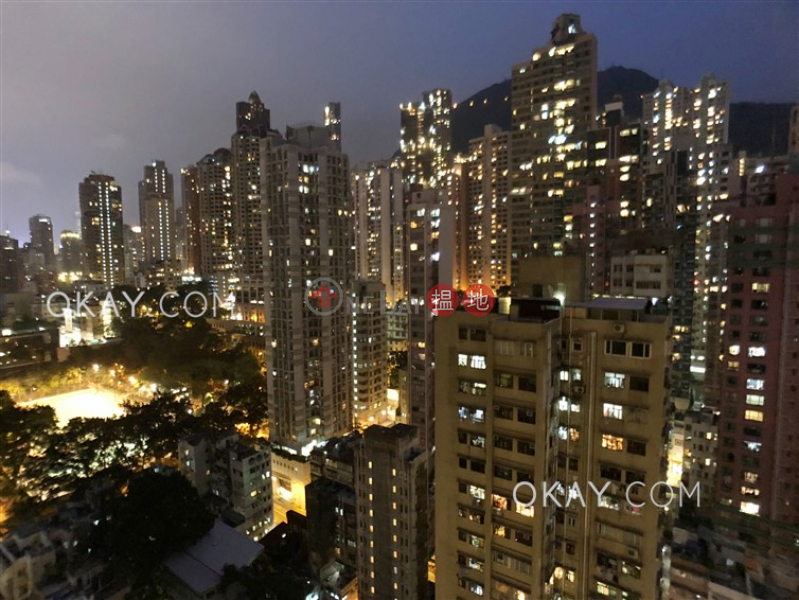 HK$ 32,000/ month, Island Crest Tower 2 Western District, Gorgeous 2 bedroom on high floor with balcony | Rental