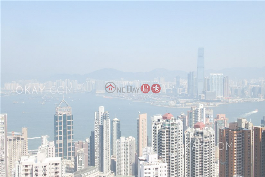 Beautiful 3 bed on high floor with balcony & parking | Rental, 9 Kotewall Road | Western District, Hong Kong, Rental | HK$ 75,000/ month