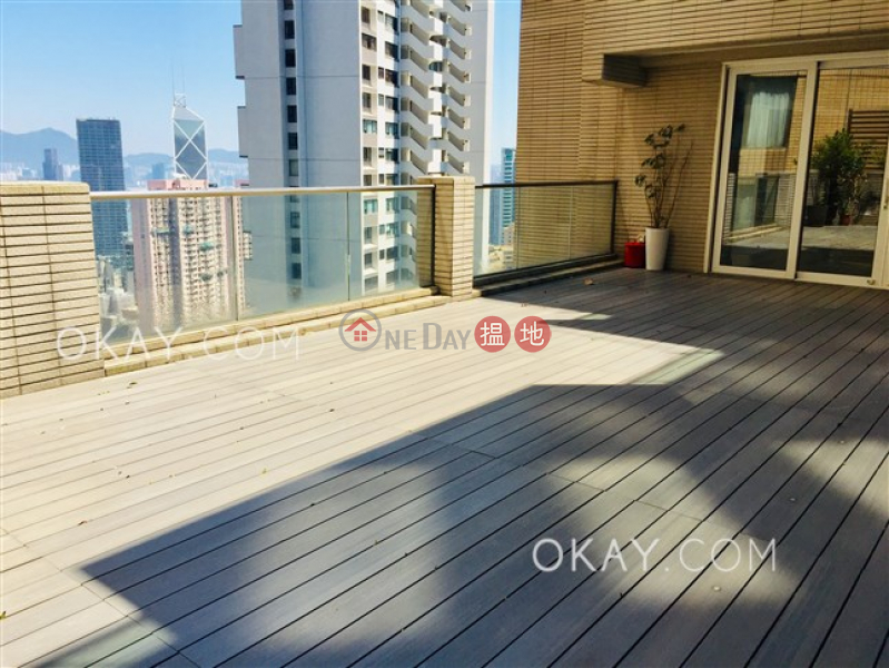 Beautiful 4 bed on high floor with rooftop & terrace | Rental | 10 Tregunter Path | Central District Hong Kong Rental HK$ 500,000/ month