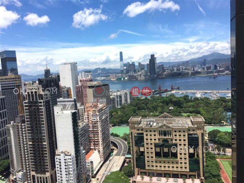 Tasteful 2 bed on high floor with sea views & balcony | Rental, 8 Jones Street | Wan Chai District Hong Kong | Rental | HK$ 35,000/ month