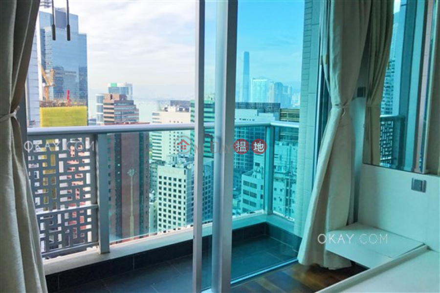 Property Search Hong Kong | OneDay | Residential Rental Listings, Generous 1 bed on high floor with sea views & balcony | Rental