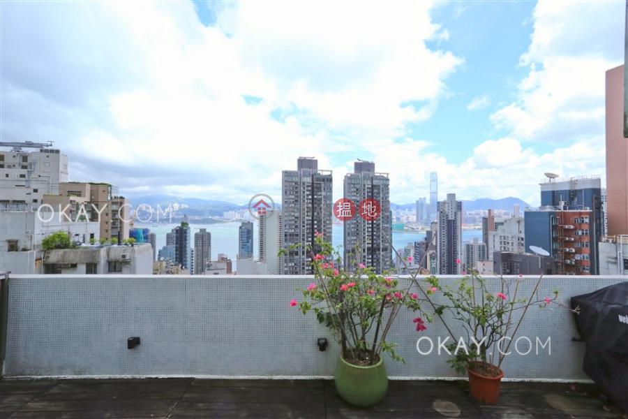 Elegant 1 bed on high floor with sea views & rooftop | Rental | 3 St. Stephen\'s Lane | Western District | Hong Kong | Rental HK$ 35,000/ month