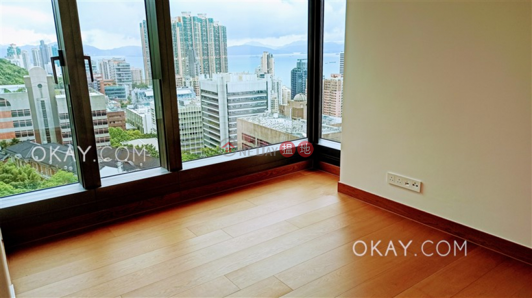 Gorgeous 4 bedroom on high floor with balcony | Rental | University Heights 翰林軒 Rental Listings