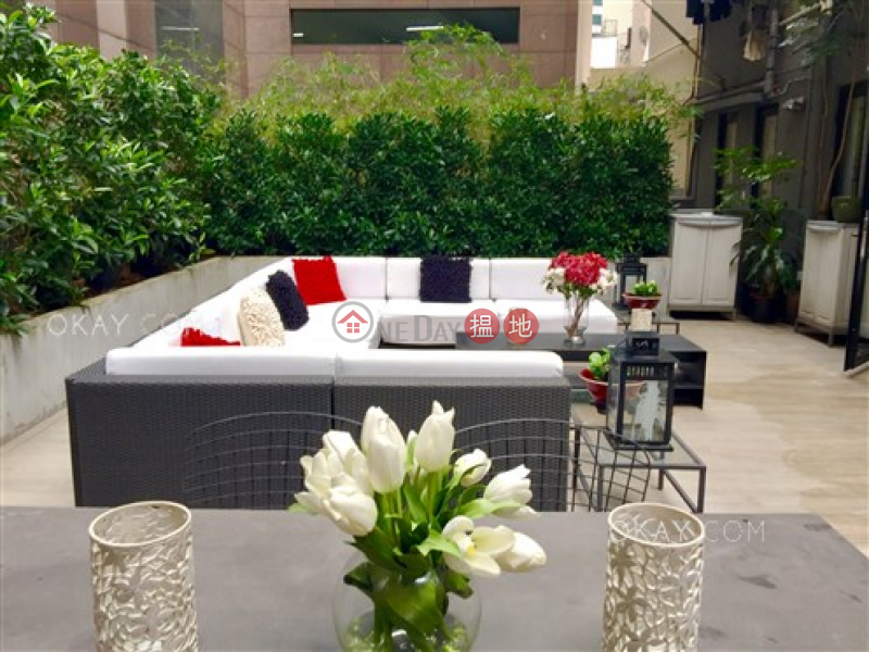 HK$ 14.8M Mandarin Building Western District Stylish 1 bedroom with terrace | For Sale