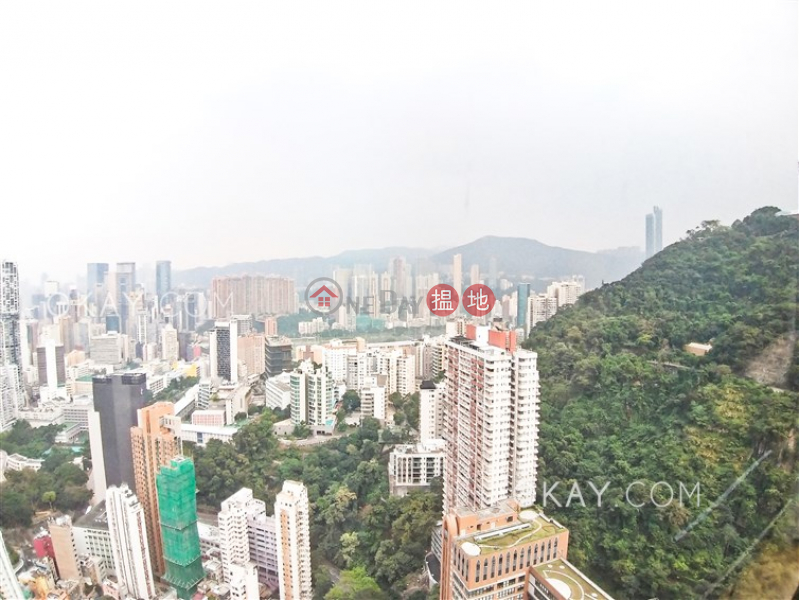 Property Search Hong Kong | OneDay | Residential | Rental Listings | Stylish penthouse with racecourse views, terrace | Rental