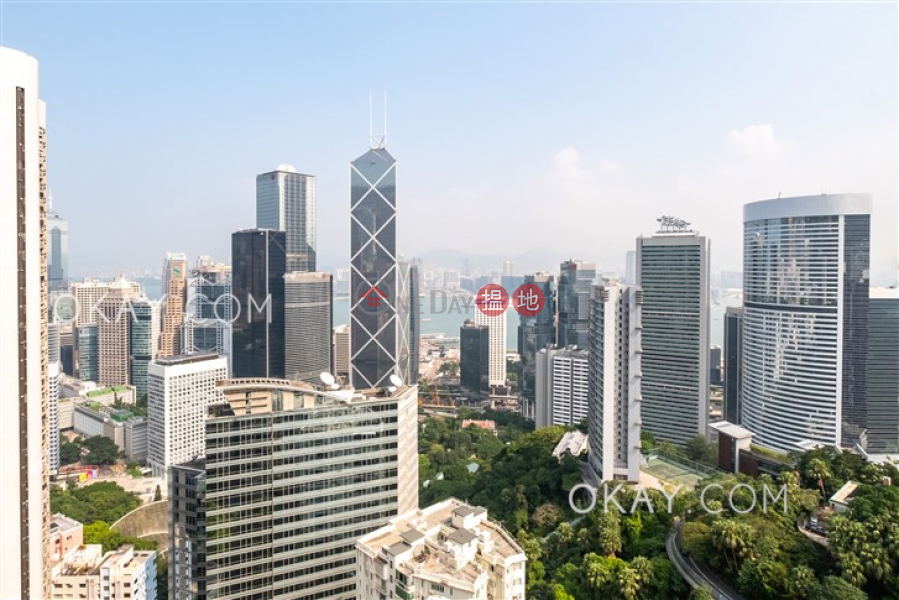 Property Search Hong Kong | OneDay | Residential | Rental Listings, Efficient 3 bed on high floor with balcony & parking | Rental