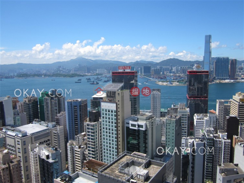 Unique 3 bed on high floor with harbour views & balcony | Rental | Centrestage 聚賢居 Rental Listings