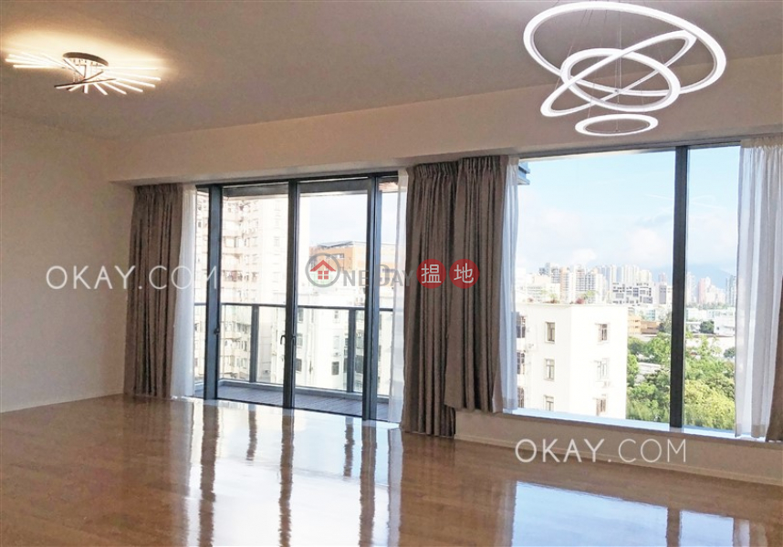 Beautiful 3 bedroom with balcony & parking   Rental   NO. 1 & 3 EDE ROAD TOWER 1 義德道1及3號1座 Rental Listings