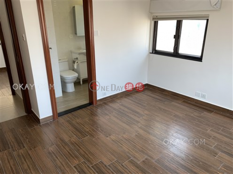 HK$ 48,000/ month   Beverly Court   Wan Chai District, Rare penthouse with racecourse views, rooftop   Rental