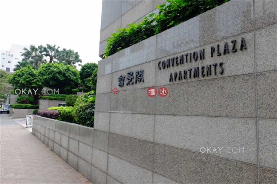 Gorgeous 1 bedroom on high floor with sea views | Rental | Convention Plaza Apartments 會展中心會景閣 Rental Listings