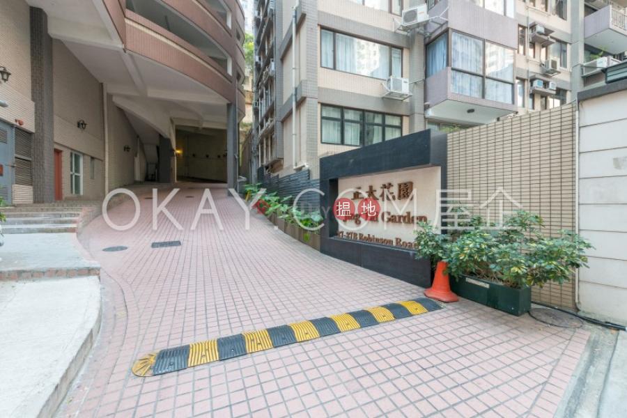 1房1廁,實用率高,極高層,露台正大花園出租單位 正大花園(Jing Tai Garden Mansion)出租樓盤 (OKAY-R91588)