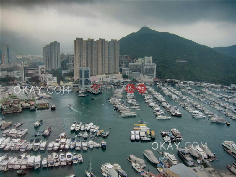 Lovely 2 bed on high floor with harbour views & balcony | Rental | Larvotto 南灣 Rental Listings