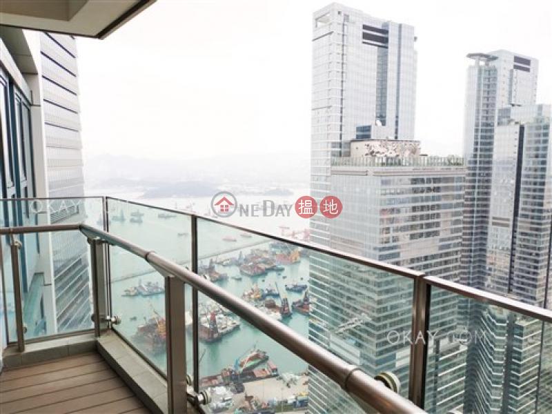 Unique 3 bedroom on high floor with sea views & balcony | Rental | The Harbourside Tower 3 君臨天下3座 Rental Listings
