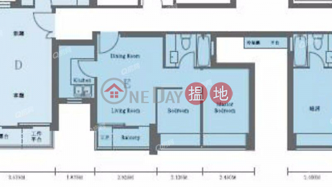 Island Crest Tower1 | 2 bedroom Mid Floor Flat for Rent|Island Crest Tower1(Island Crest Tower1)Rental Listings (XGGD654000173)_0