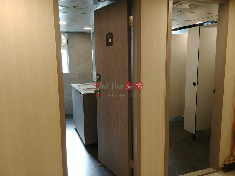 HK$ 3,500/ 月成運工業大廈|觀塘區新場 全新裝修 玻璃幕牆 寫字樓工作室
