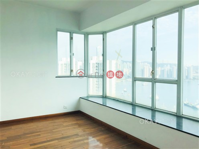 Exquisite 4 bed on high floor with sea views & balcony | Rental | One Kowloon Peak 壹號九龍山頂 Rental Listings