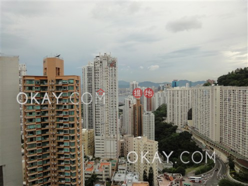 Property Search Hong Kong | OneDay | Residential, Sales Listings | Stylish 3 bedroom on high floor with balcony & parking | For Sale