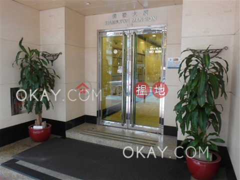 Elegant 3 bedroom with balcony | Rental|Wan Chai DistrictHamilton Mansion(Hamilton Mansion)Rental Listings (OKAY-R369897)_0