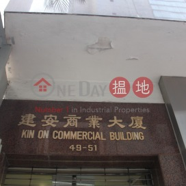 Kin On Commercial Building|建安商業大廈