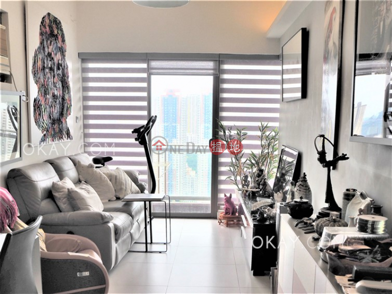 Property Search Hong Kong | OneDay | Residential | Sales Listings | Charming 1 bed on high floor with sea views & balcony | For Sale