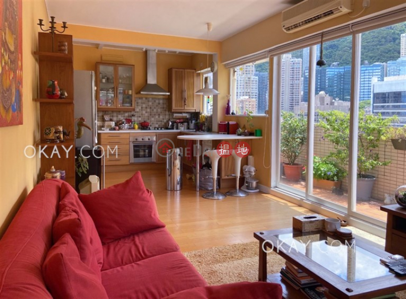 Efficient 1 bed on high floor with rooftop & terrace | For Sale | Block B KingsField Tower 景輝大廈B座 Sales Listings