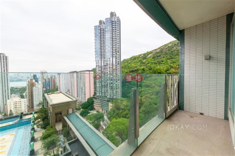 Beautiful 4 bedroom with sea views, balcony | Rental, 23 Tai Hang Drive | Wan Chai District Hong Kong | Rental | HK$ 80,000/ month