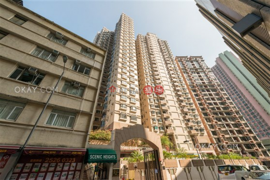 HK$ 32,000/ month | Scenic Heights Western District | Unique 2 bedroom with sea views & balcony | Rental