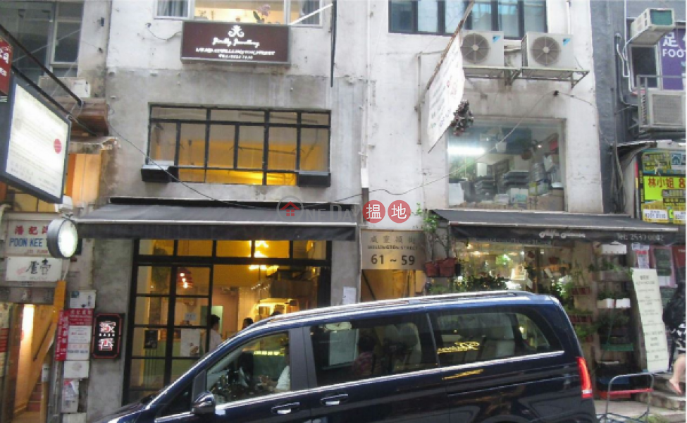 Studio Flat for Rent in Central, 59-61 Wellington Street 威靈頓街59-61號 Rental Listings | Central District (EVHK44956)