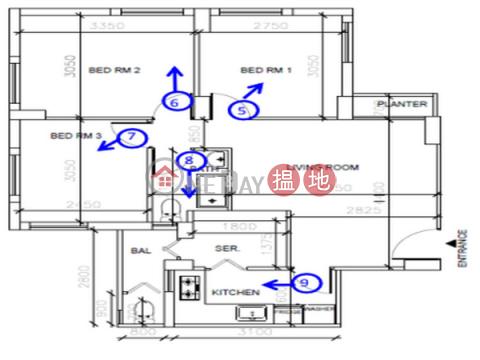 灣仔三房兩廳筍盤出租|住宅單位|海聯大廈(Hyde Centre)出租樓盤 (EVHK44455)_0