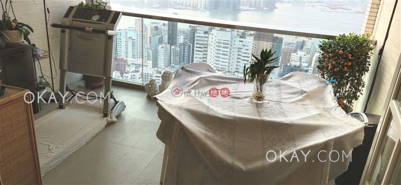 HK$ 48.8M Sky Scraper | Eastern District | Lovely 3 bedroom on high floor with balcony & parking | For Sale